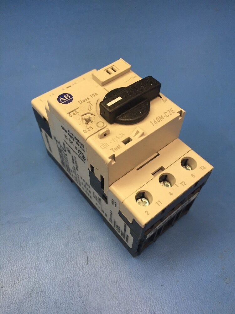 Allen Bradley 140m C2e A40 Ser C Manual Switch Motor