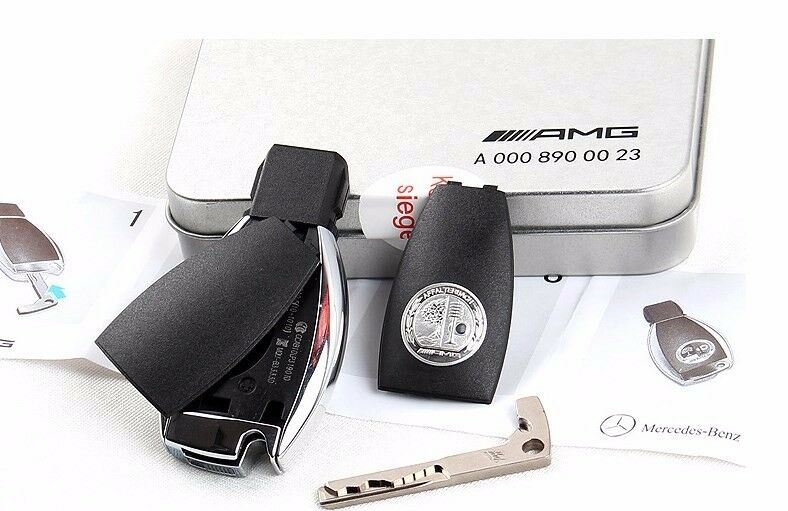 Genuine oem mercedes benz amg key cover for mercedes benz for Mercedes benz car cover oem