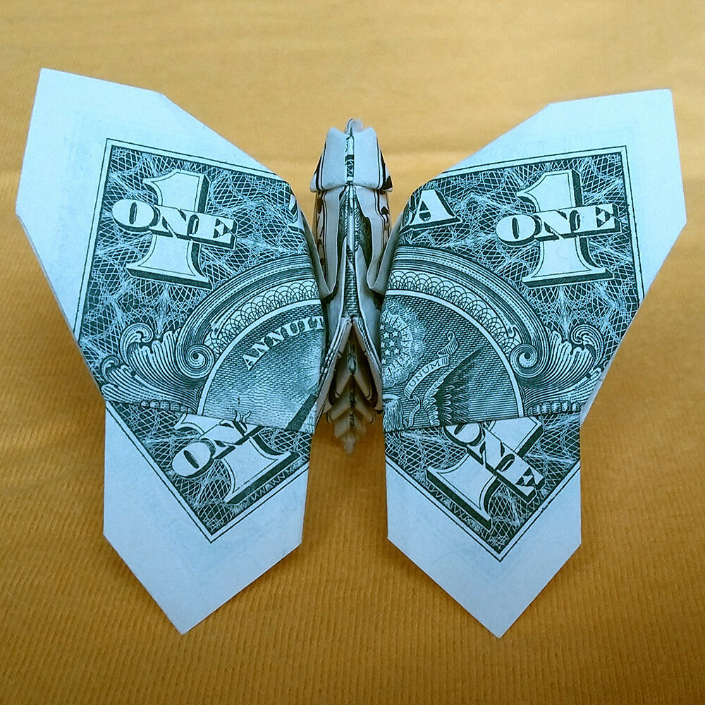 $1 Dollar Bill Federal Reserve Note Art Gift BUTTERFLY ... - photo#28