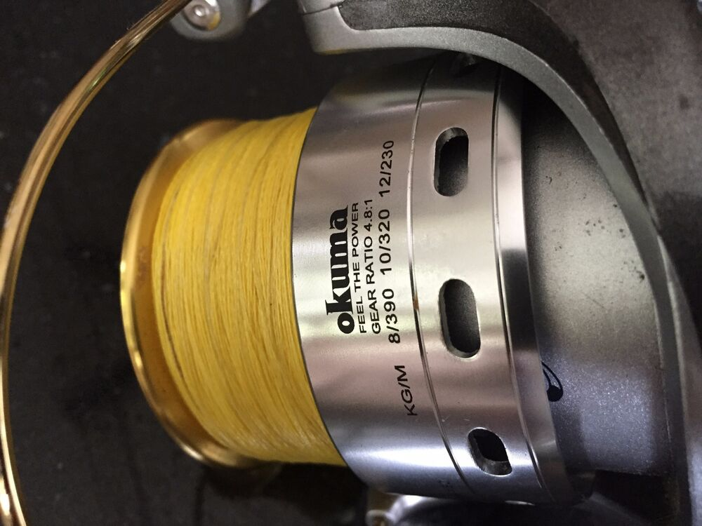 how to put braided line on a spinning reel