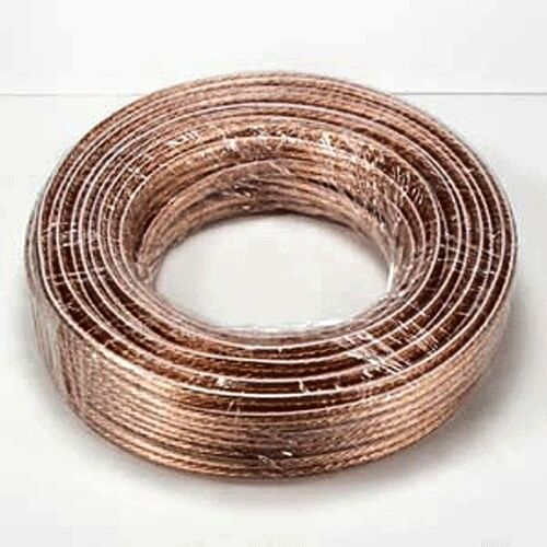 100ft high quality gauge ga 12awg speaker cable wire 12 awg audio polarized ebay. Black Bedroom Furniture Sets. Home Design Ideas