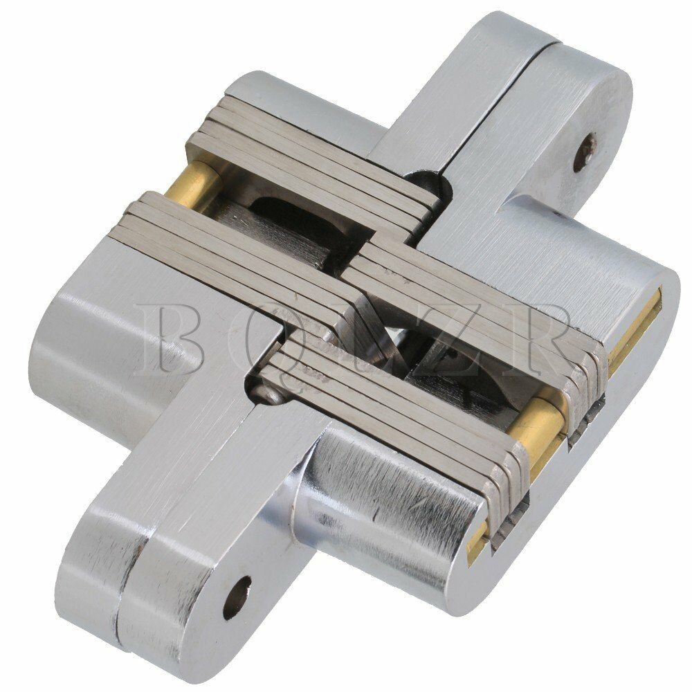 2pcs hidden stainless steel invisible concealed cross for Concealed door hinges