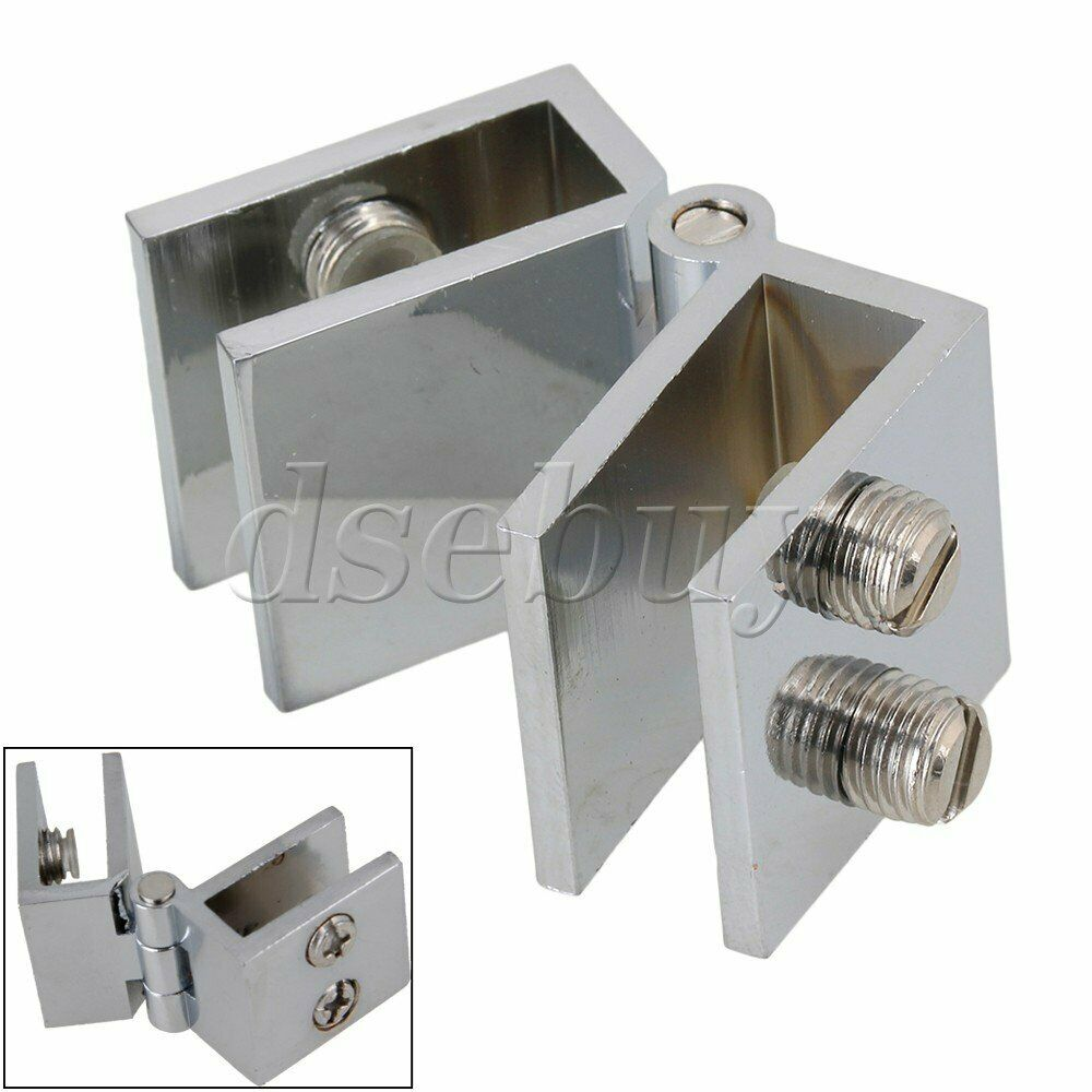 180 degree glass door cupboard cabinet clamp hinge ebay