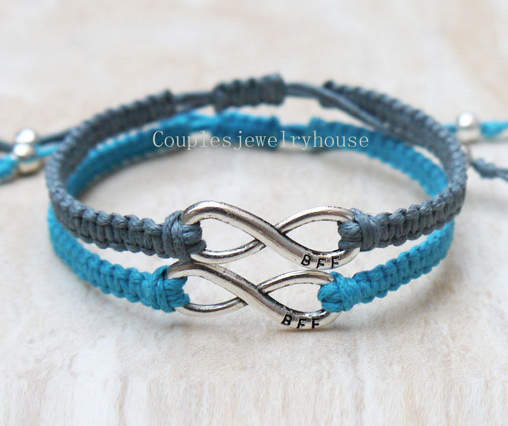 Popular Bangle Bracelets: Infinity Couples Bracelet Infinity Best Friends Bracelet
