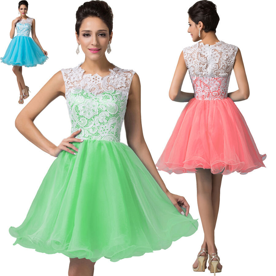 teens short cocktail party evening formal gown wedding bridesmaid prom