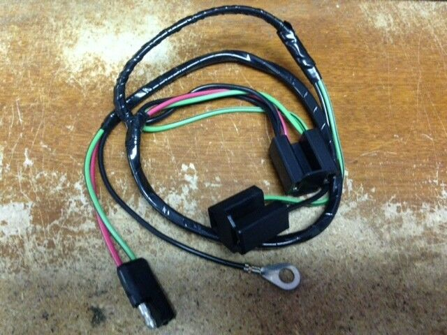 1965 Lincoln Continental Headlight Extension Wiring Harness