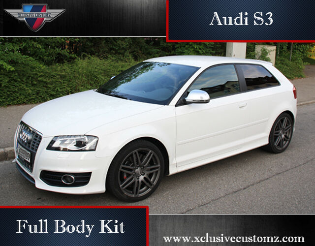 audi s3 body kit for audi a3 8p audi bodykit audi s3. Black Bedroom Furniture Sets. Home Design Ideas