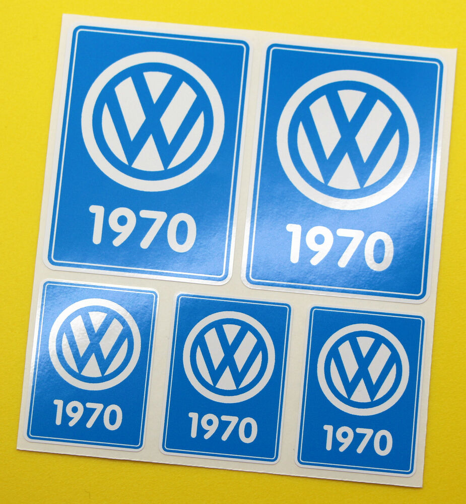 Vw 1970 volkswagen year date stickers inside glass beetle for Telephone mural 1970
