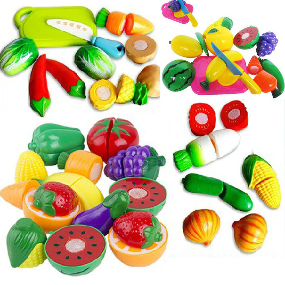 Best Pretend Play Toys For Kids : Best play food kid children plastic vegetable fruit toy