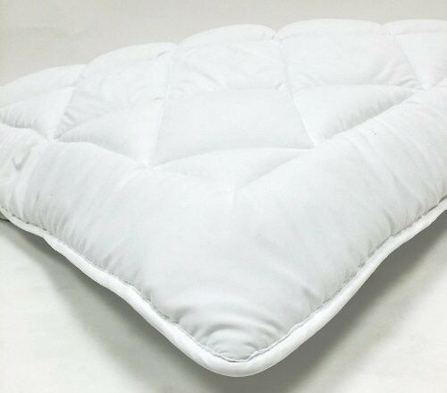 Reversible Down Alternative Mattress Topper Pad With