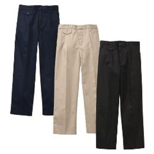 Elastic waist uniform pants full naked bodies for Soil your pants