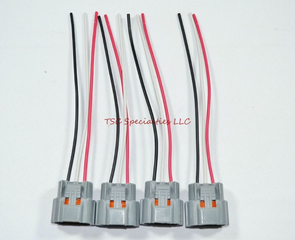 4 Ignition Coil Connectors For Nissan Skyline Harness Wiring Sr20 Rb26 Rb20 Rb25 Ebay