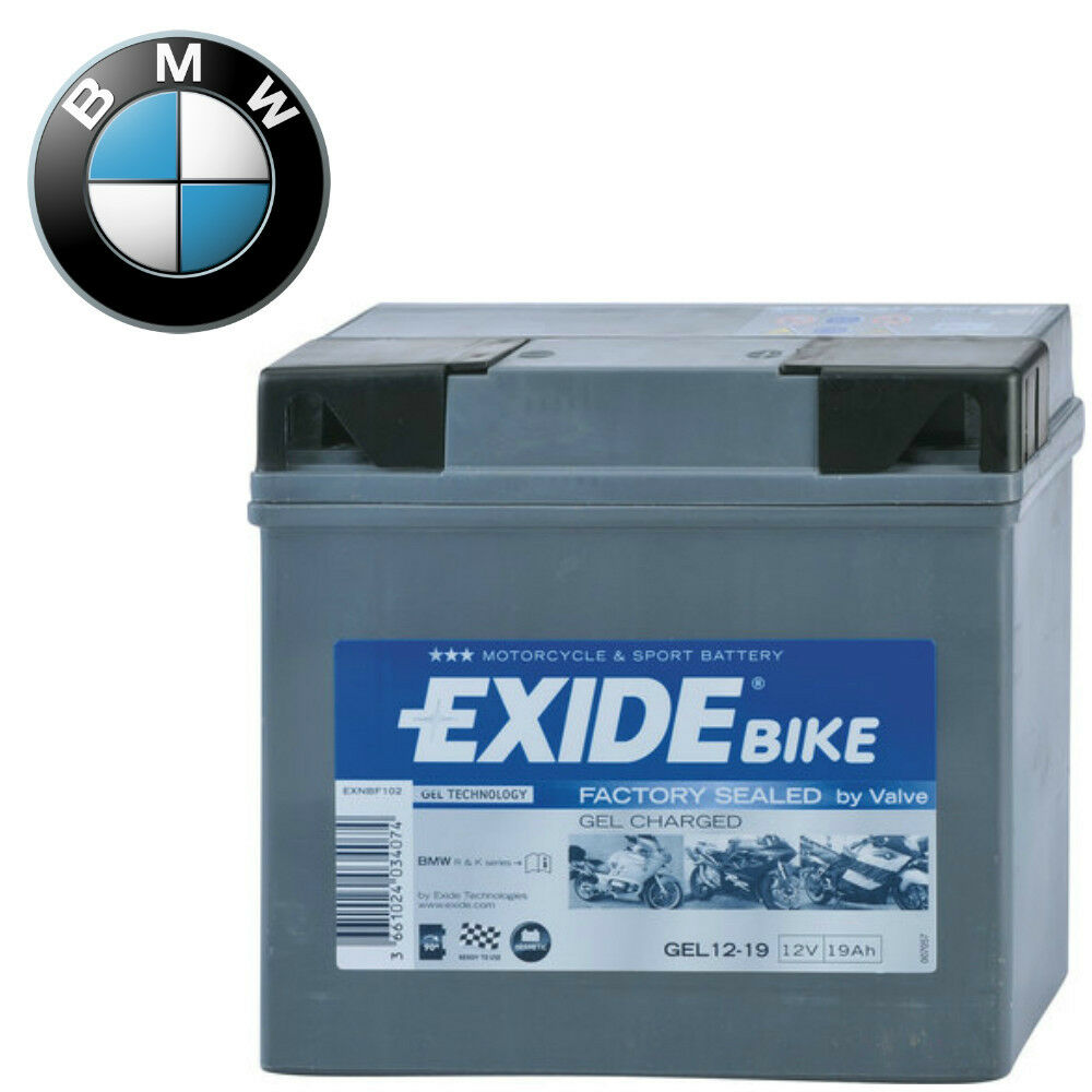 exide bike batteria gel 12 19 bmw r 1150gs adventure 12v. Black Bedroom Furniture Sets. Home Design Ideas