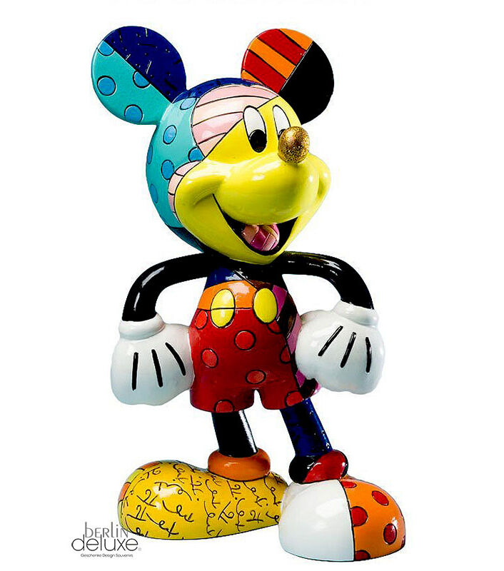 disney britto mickey mouse neu ovp micky maus goldene nase. Black Bedroom Furniture Sets. Home Design Ideas