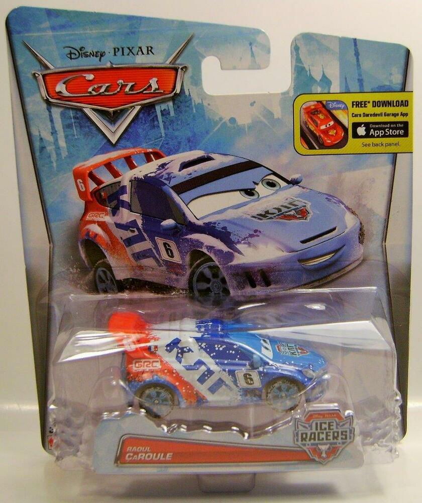 RAOUL CAROULE ICE RACERS SPECIAL ICY EDITION DISNEY PIXAR