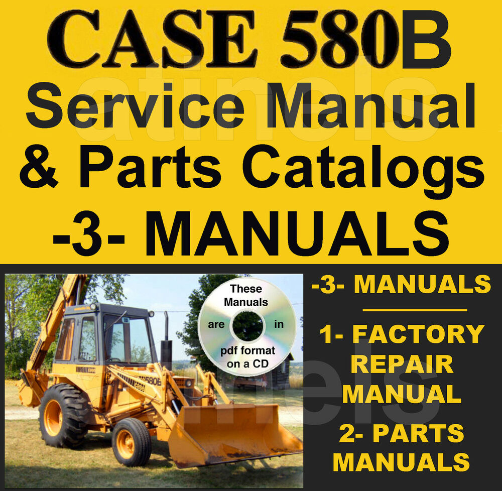 case b service manual for sale.
