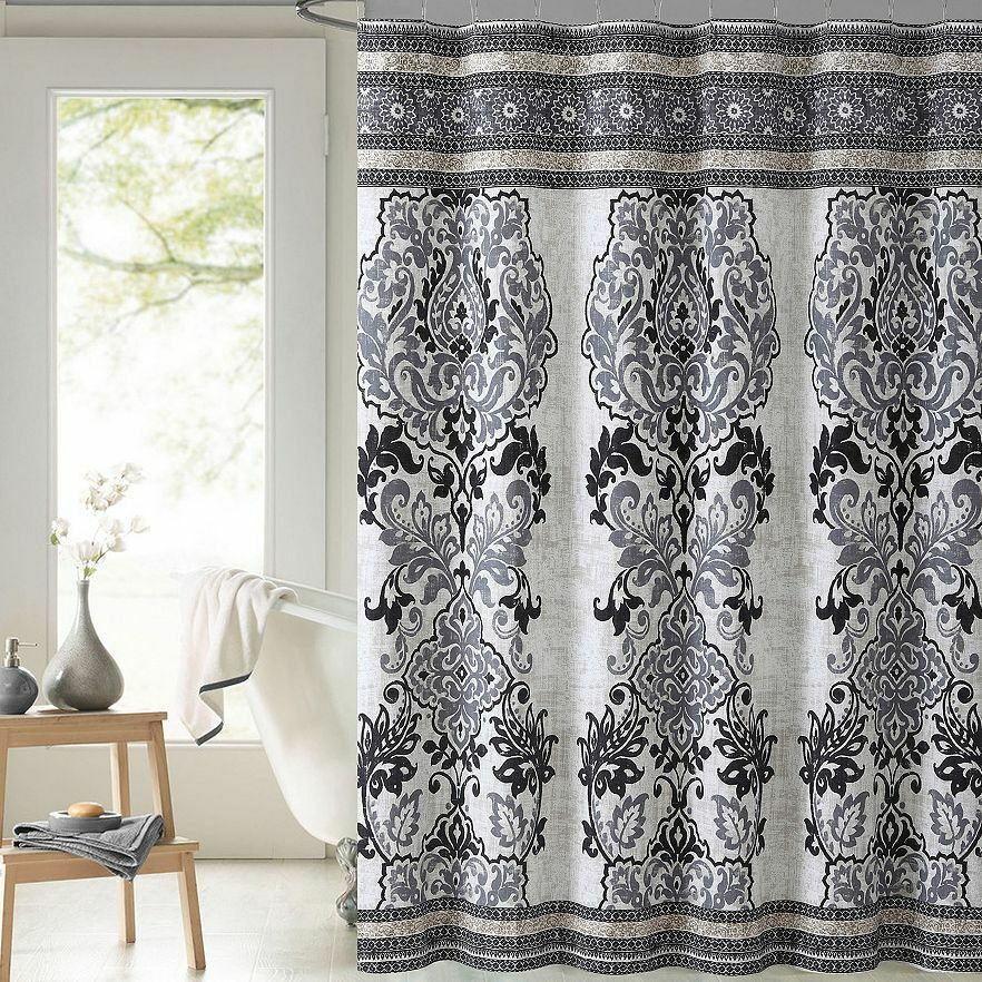 Cottage Curtains Window Treatments Homespun Fabric Shower