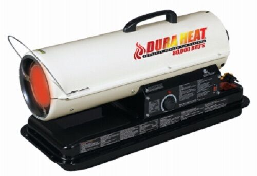 Duraheat Dfa80t 80 000 Btu Kerosene Portable Forced Air
