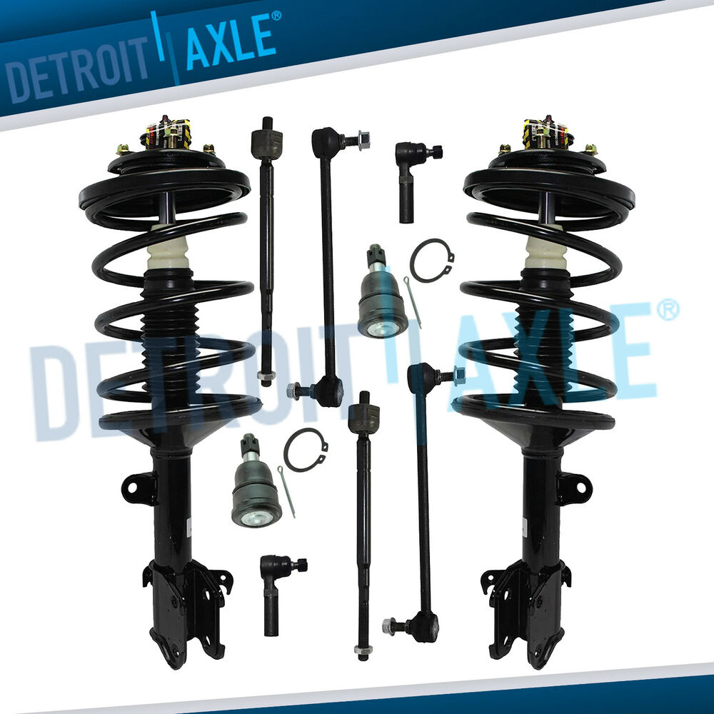 Brand New 12pc Front Suspension Kit For 1994 1999 Toyota: Brand New 10pc Complete Front Suspension Kit For 1999-2001