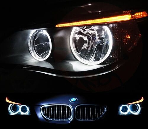 4x bmw 501 w5w angel eye halo ring led light white 5w 5. Black Bedroom Furniture Sets. Home Design Ideas