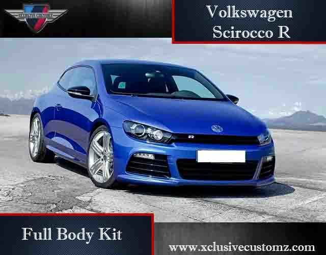 volkswagen scirocco r full body kit for scirocco ebay. Black Bedroom Furniture Sets. Home Design Ideas
