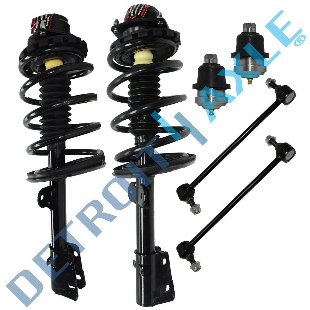 Brand New 6pc Complete Front Suspension Kit For Caravan