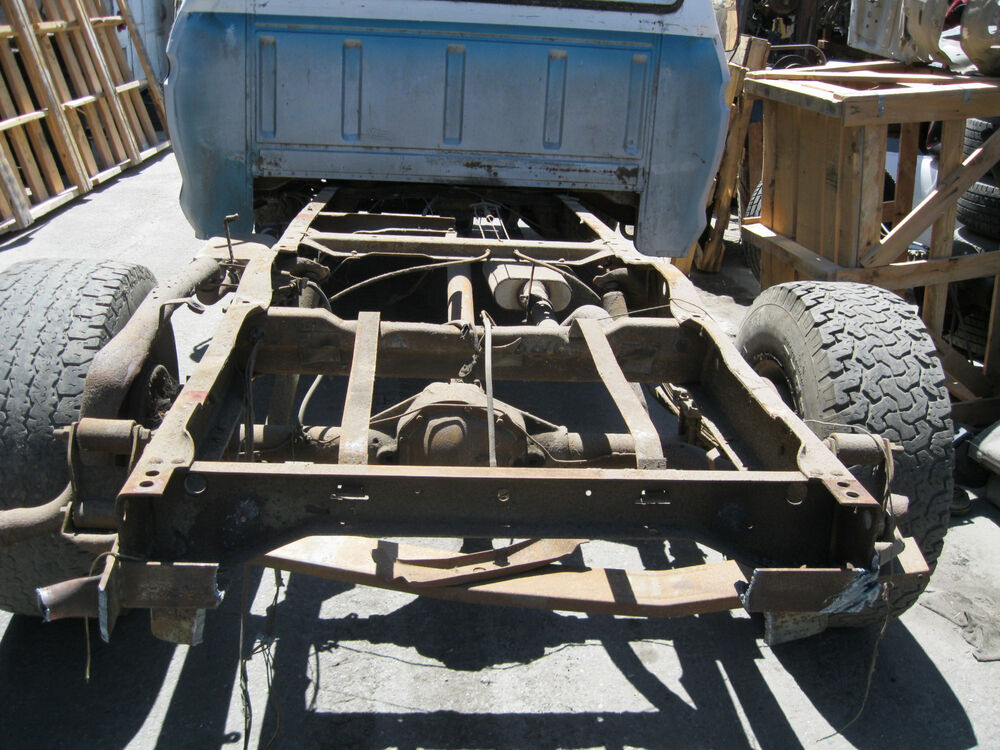 Used Ford F250 For Sale >> 77 Ford F250 2WD BARE FRAME NO SUSPENSION NO REAR AXLE used   eBay