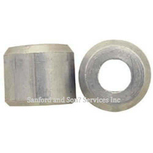 Quot aluminum cable stop ferrule snare wire rope single