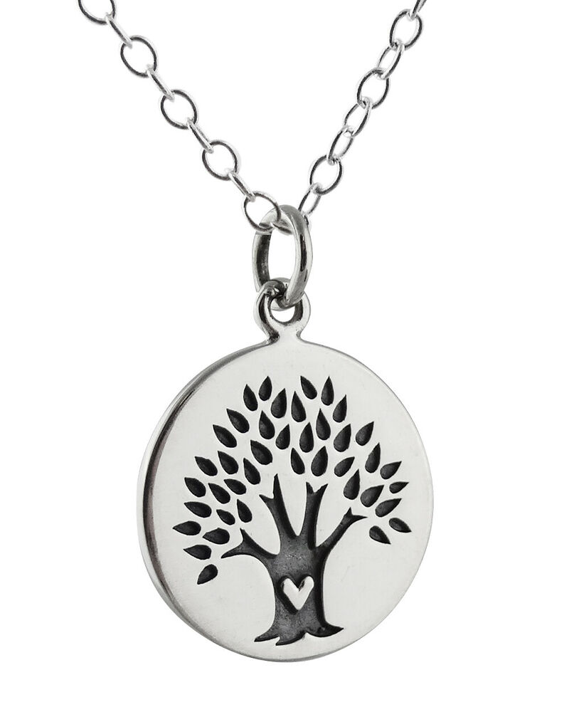 Tree of life necklace 925 sterling silver celtic for What is the meaning of the tree of life jewelry