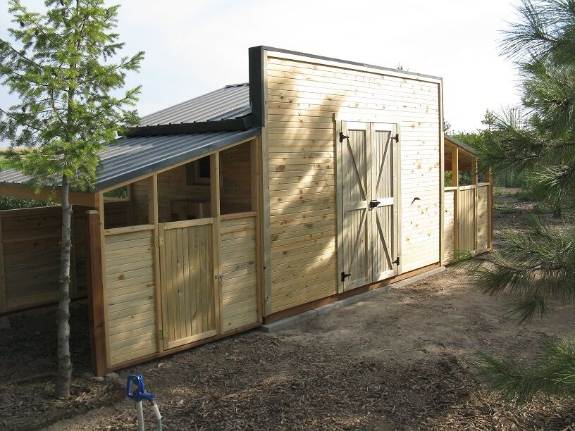 Storage shed chicken coop framing plan amp material list