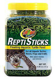Zoo Med Reptisticks Floating Aquatic Turtle Food 9oz. **Free Shipping ...