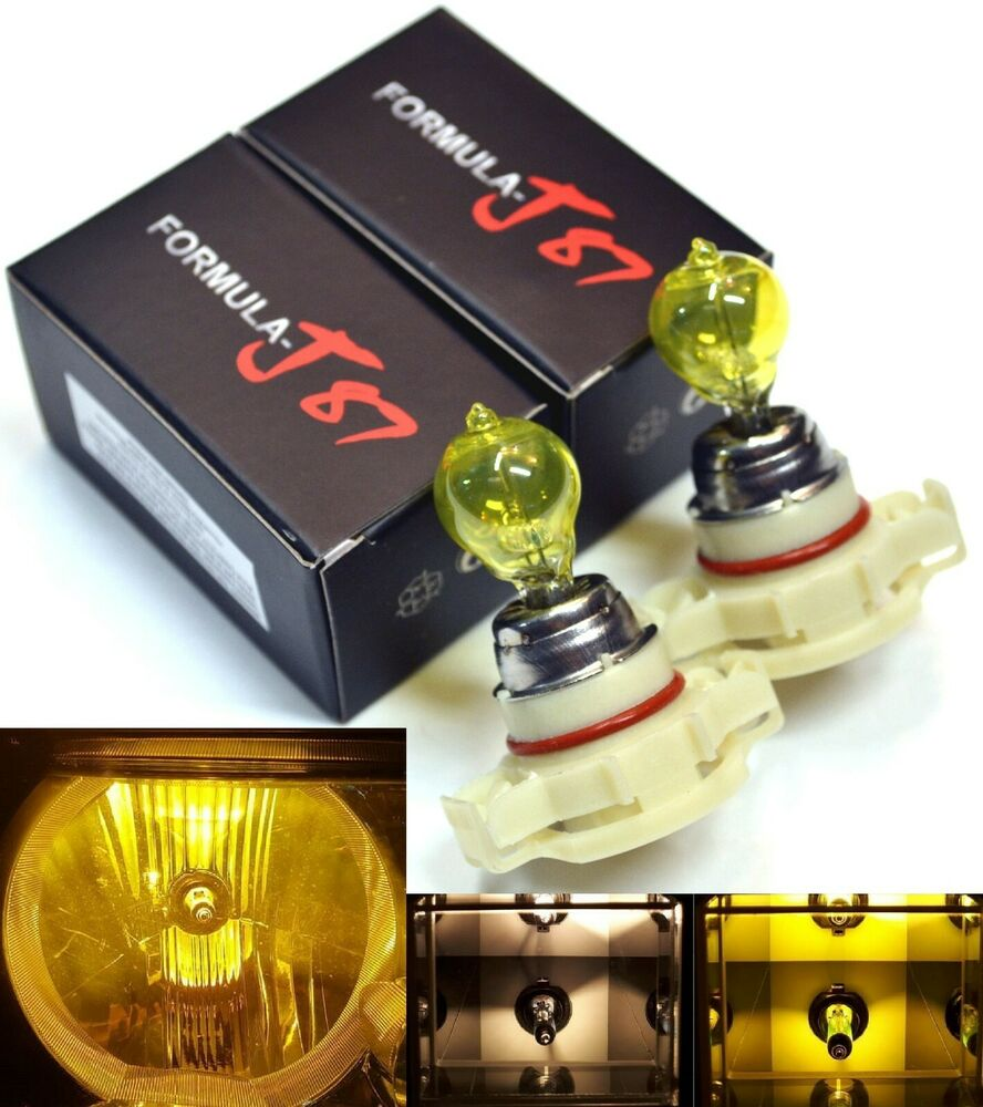 Halogen PSX24W 2504 24W 3000K Yellow Two Bulbs Fog Light