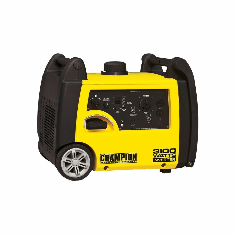 Portable Propane Fuel Inverter Generator Portable Oxygen For You Portable Oxygen Concentrators Approved For Air Travel Portable Closet White: Champion Power Equipment 3100-watt Portable Gas Inverter
