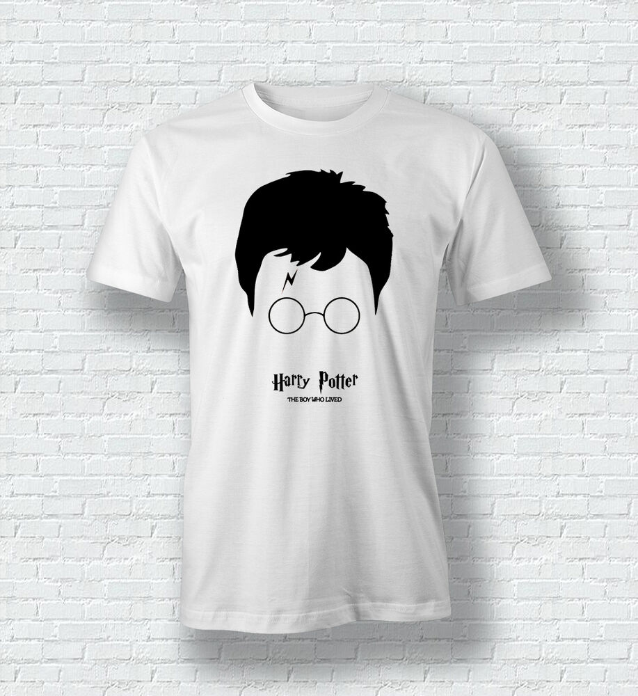 harry potter the boy who lived quote men woman t shirt for men woman kids ebay. Black Bedroom Furniture Sets. Home Design Ideas
