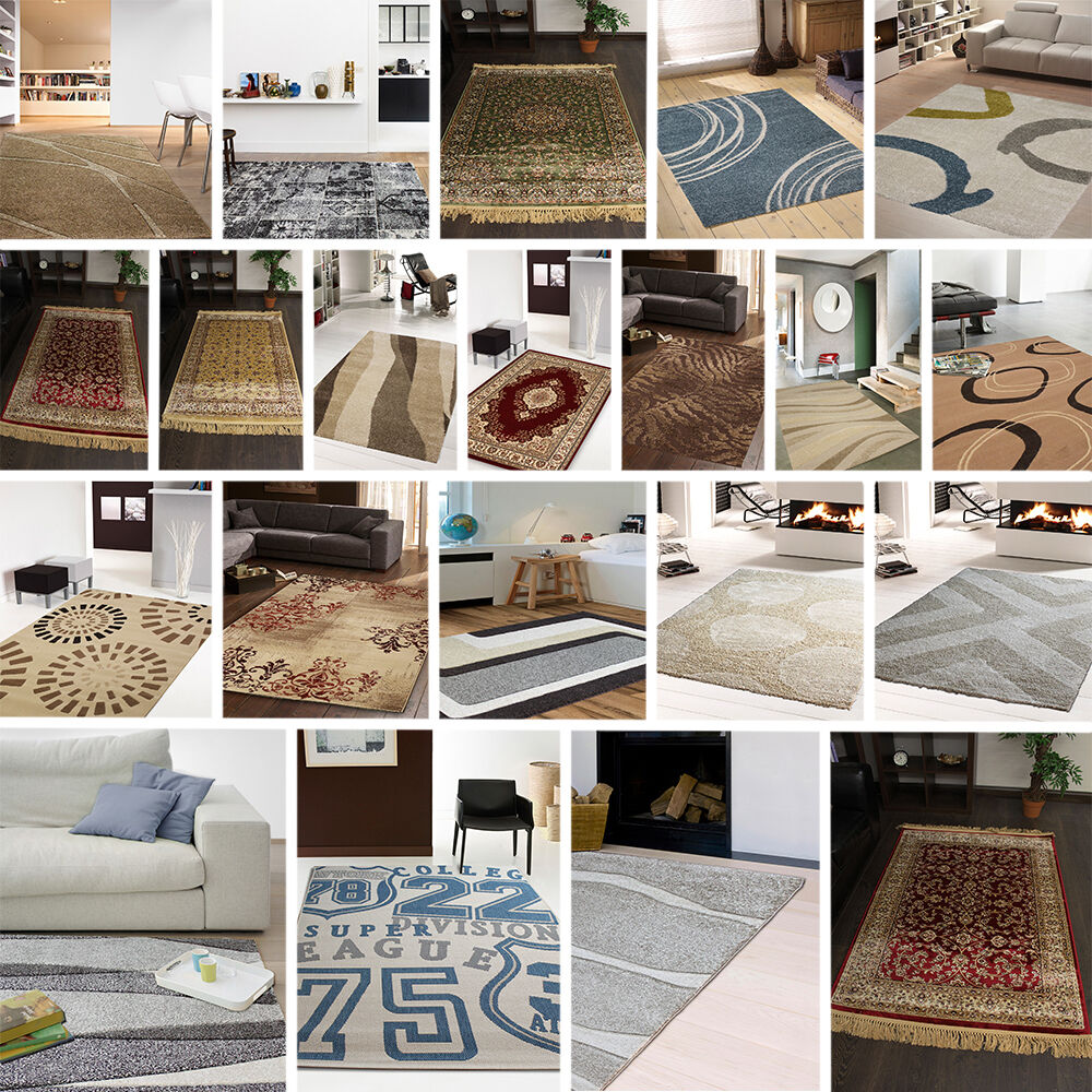 clearance cheap rugs small large medium soft various brand new rug sale ebay. Black Bedroom Furniture Sets. Home Design Ideas
