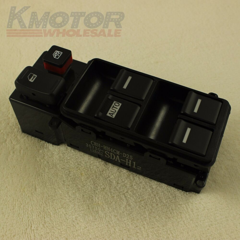 Brand new for 2003 2007 honda accord electric power window for 1994 honda accord power window switch