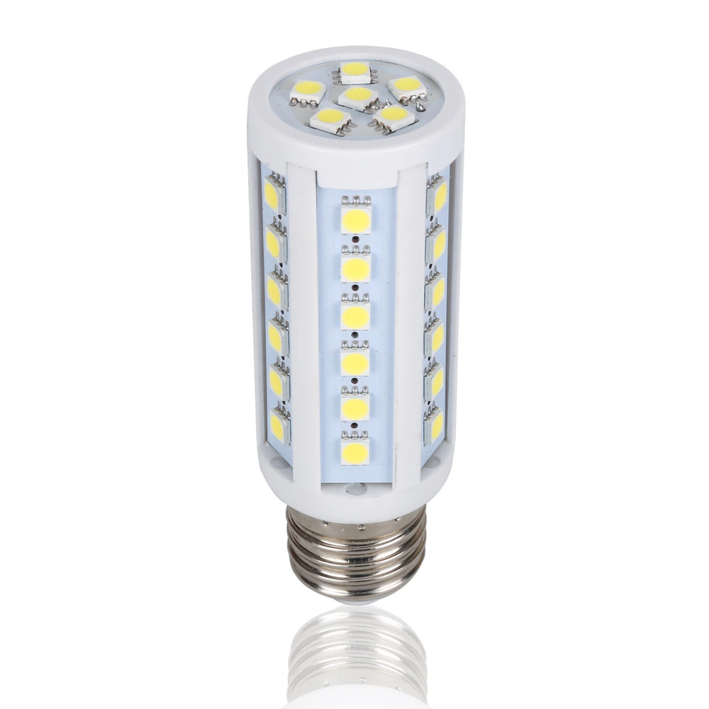 led 10w 12v dc corn light bulb lamp e27 e26 screw base socket cool white ebay. Black Bedroom Furniture Sets. Home Design Ideas
