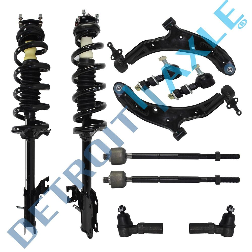 Front Suspension: Brand New 10pc Complete Front Suspension Kit For Sentra