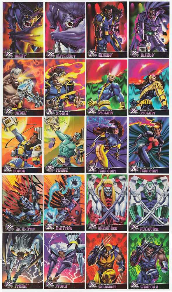 1995 Fleer Ultra X-Men Checklist, Set Info, Boxes, More