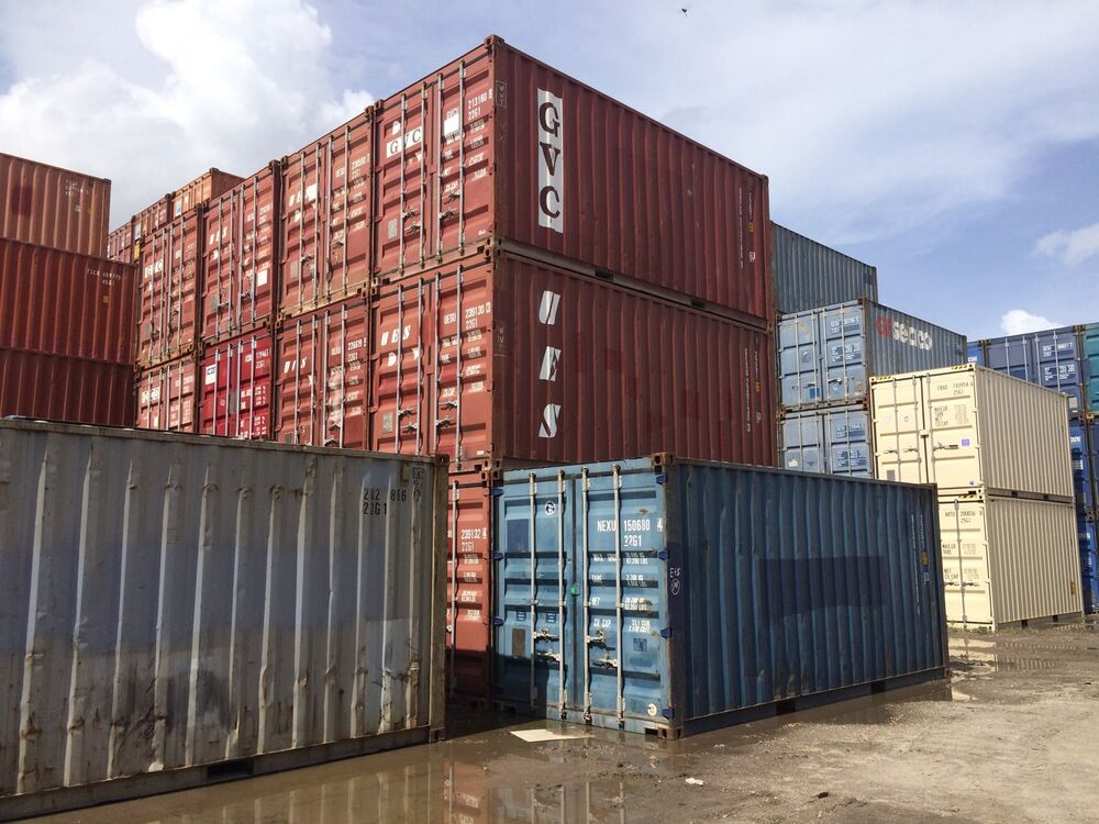 20 foot shipping storage container miami florida ebay - Container homes chicago ...