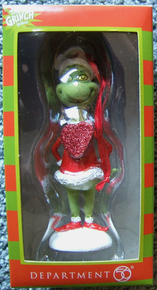 The Grinch Big Hearted Grinch Dr Seuss Christmas Ornament 2014 ...