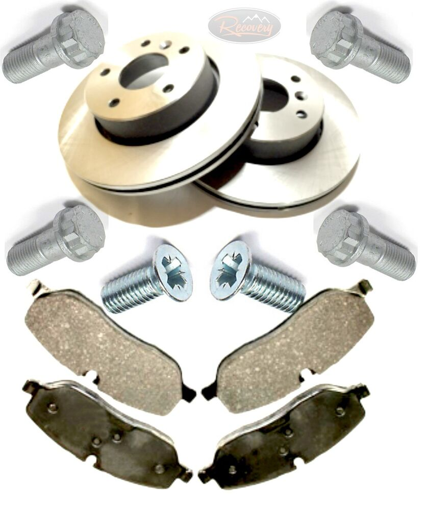 Land Rover Discovery 2 REAR Brake Disc & Pad Kit TD5 & V8