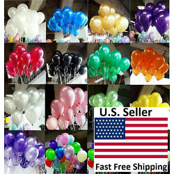 Kyпить 100pcs 10 inch colorful Pearl Latex Thickening Wedding Party Birthday Balloon на еВаy.соm