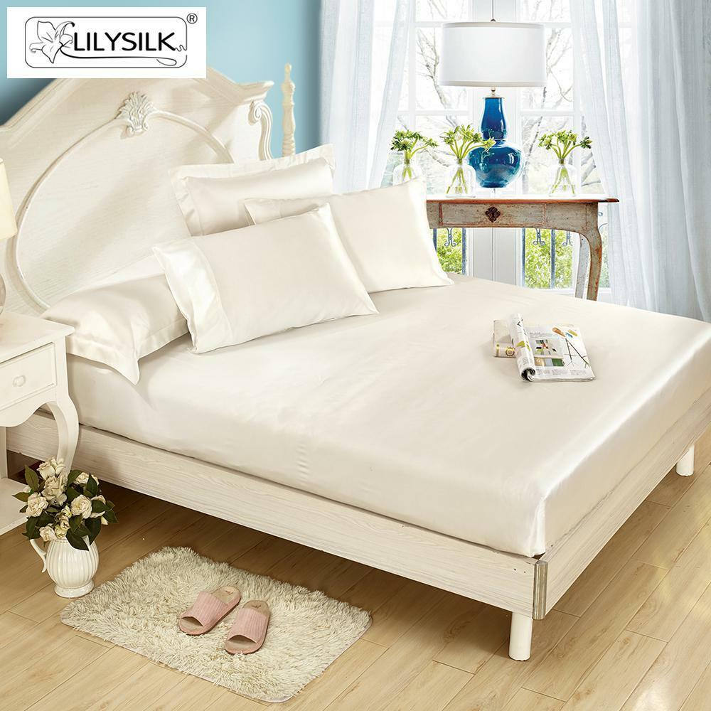 Lilysilk 25 Momme Seamless Luxury Silk Bedding Set Fitted
