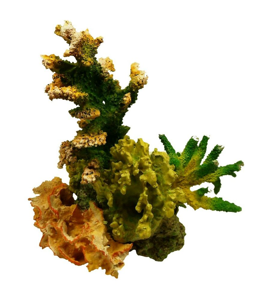 Imitation live coral tzs30c aquarium decor polyresin for Aquarium coral decoration