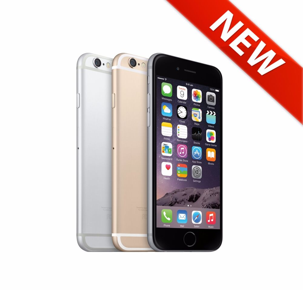new iphone 6 new apple iphone 6 16gb gold silver grey unlocked 4g lte 12686