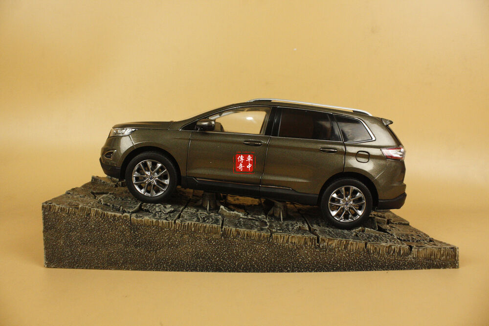 1 18 China Ford Edge Suv Diecast Model Brown Color Ebay