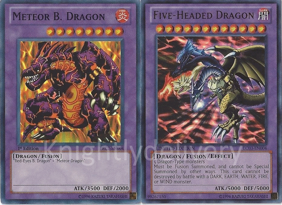 Authentic Trueman Deck - Five-Headed Dragon - Meteor B ...