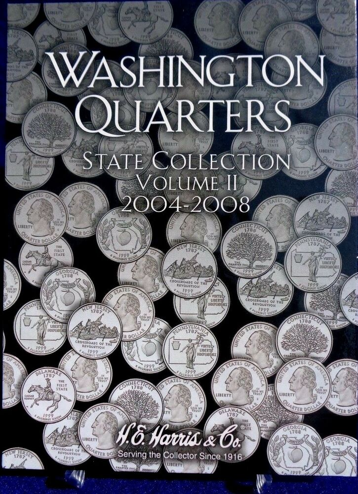 HE Harris Washington State Quarter Collection Vol #2 2004