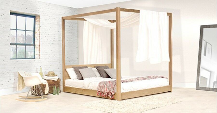 4 poster bed handmade wooden low four poster bed by get laid beds ebay 29559